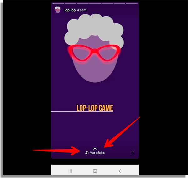 flash game on instagram slide