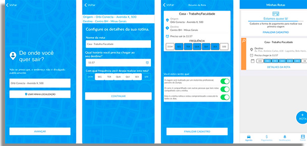 zumpy app screens