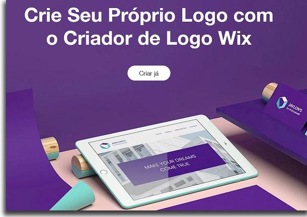 create a wix logo