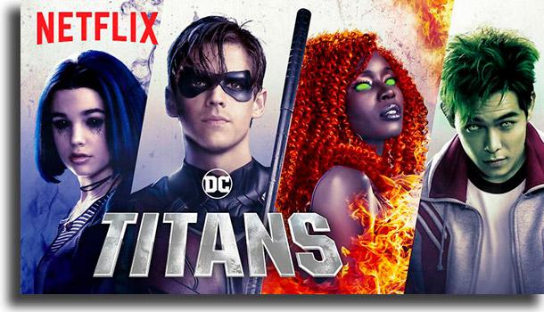 Titans most popular series on Netflix