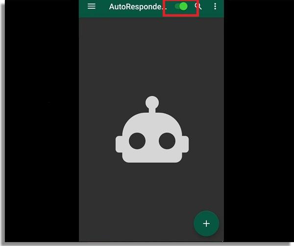 auto responder in whatsapp application