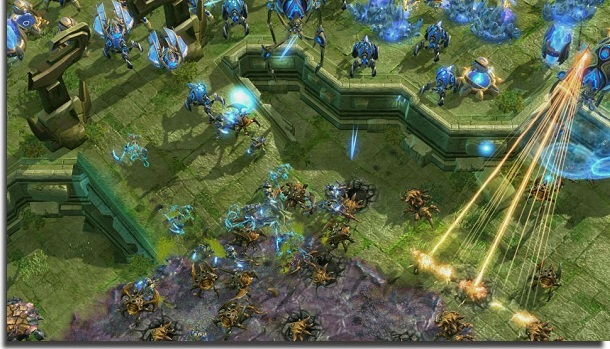 free games to play at home starcraft