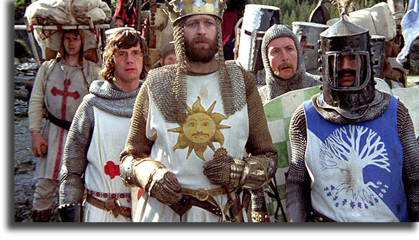 Monty Python in Search of the Holy Grail best Netflix fantasy movies