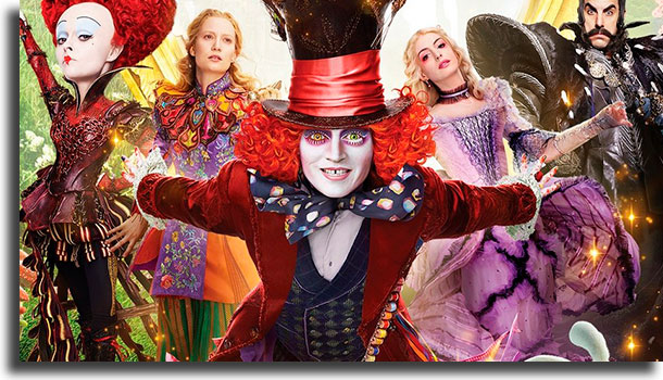 Alice Through the Looking Glass best Netflix fantasy movies