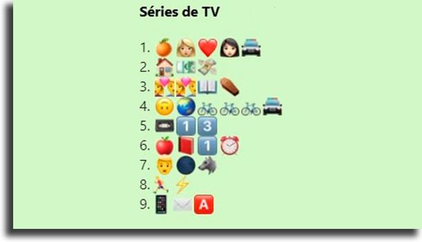 TV series challenge