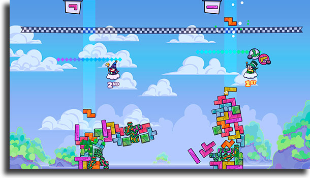Tricky Towers best games to play with family