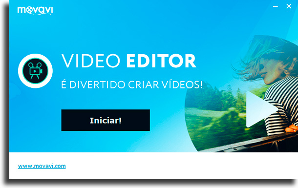 Start! easy-to-use video editing application