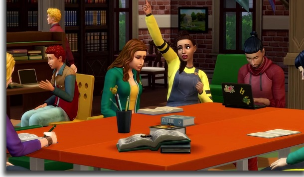 the sims 4 college life tips