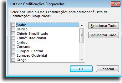 Block messages in unknown alphabets How to block an email in Outlook