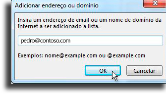 Add unwanted names How to block an email in Outlook