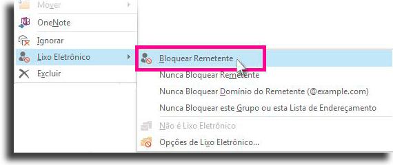 block a sender