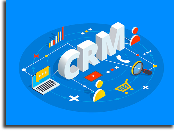 What types is CRM?