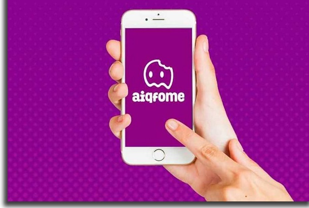 apps that promise aiqfome contactless delivery