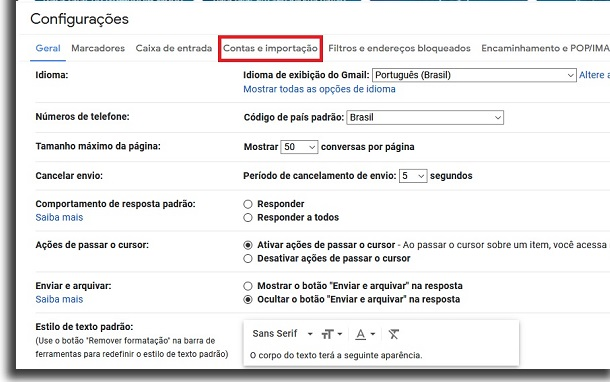 create general email accounts