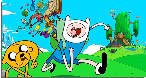 adventure time is one of the most acclaimed animation series