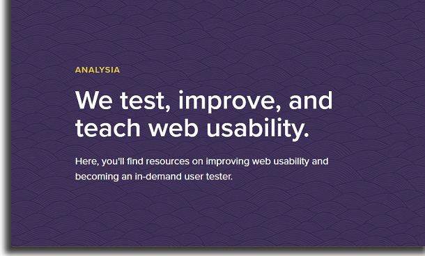 how to use Analysia
