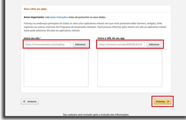 insert data on Amazon