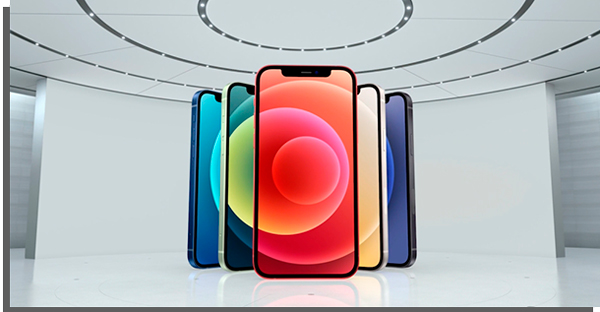 colors of apple smartphone models