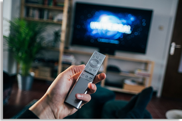 Smart TV also accesses internet television