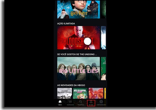download series and movies on HBO Go my hbo
