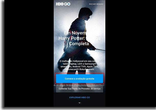 HBO Go test