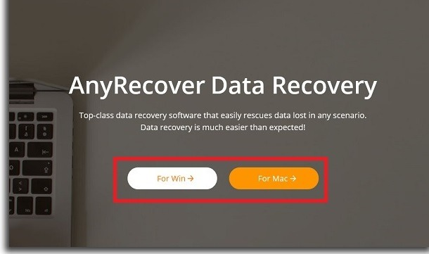 anyrecover tutorial