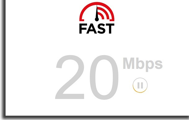 test the speed of the alternative internet