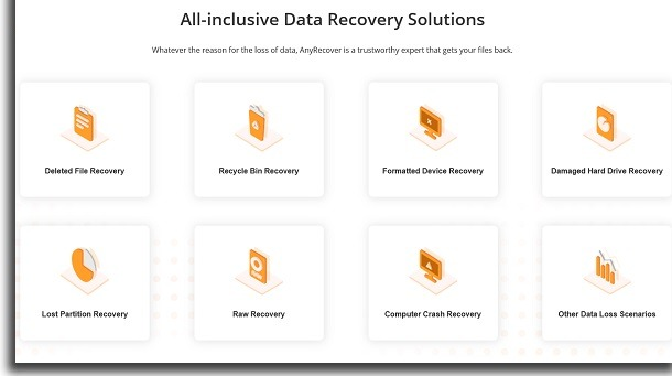anyrecover guide