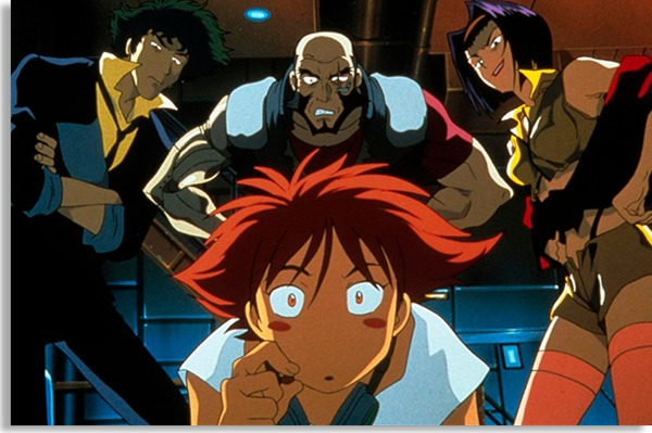 bebop cowboy is a classic among animations and adventure series.