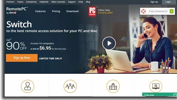 remote access with remotePC