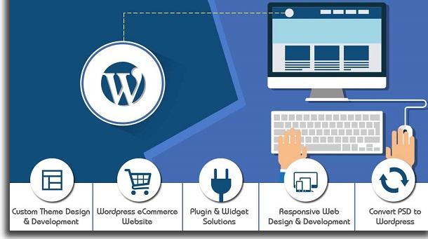 create websites with free wordpress tools