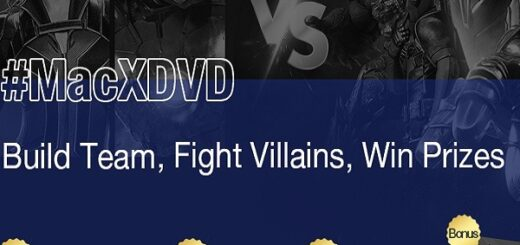 MacXDVD Superhero Event dá cópia grátis do software e chance de ganhar TV 4K